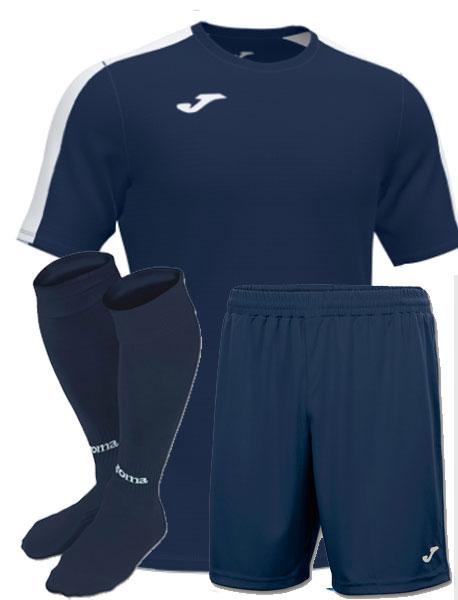 Футбольная форма Joma Academy III т-синяя