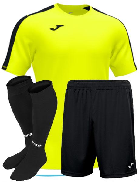 Футбольная форма Joma Academy III салатовая