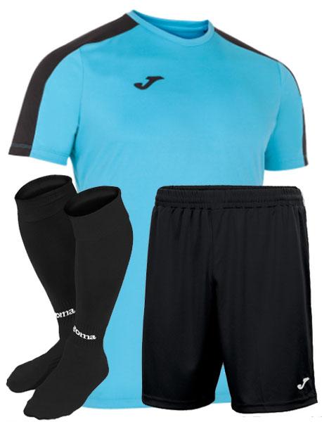 Футбольная форма Joma Academy III бирюзовая