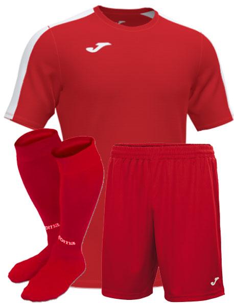 Футбольная форма Joma Academy III красная
