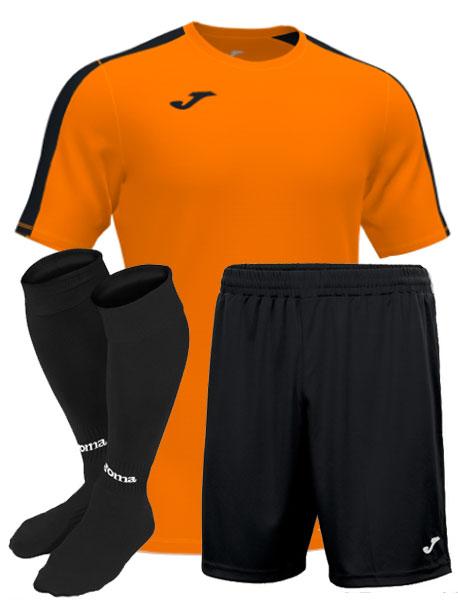 Футбольная форма Joma Academy III оранжевая