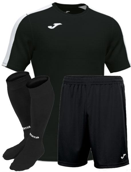 Футбольная форма Joma Academy III черная