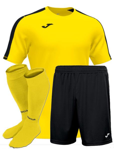 Футбольная форма Joma Academy III желтая