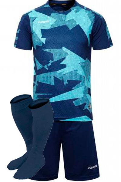 Футбольная форма Europaw 022 голубая