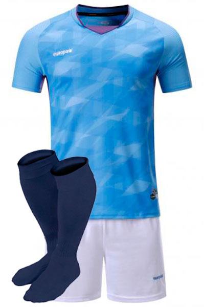 Футбольная форма Europaw 027 бирюзовая