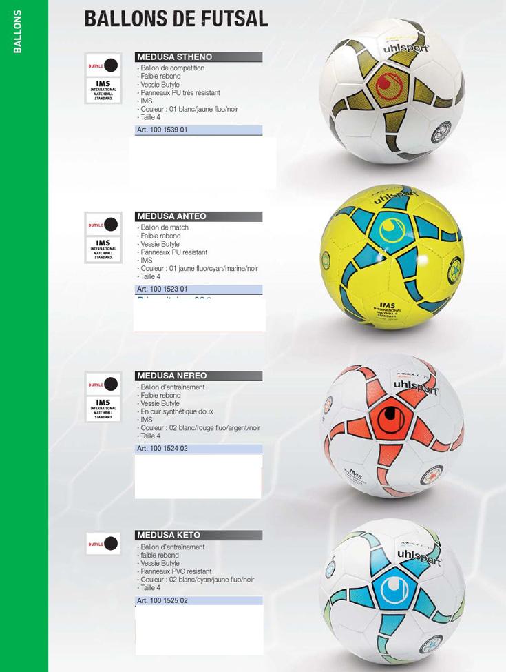 мячи для футзала