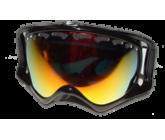 Горнолыжная маска Oakley Crowbar 57-289 SNOW JET BLACK W/ FIRE POLARIZED