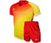 Футбольная форма Europaw FB-007 красно-желтая