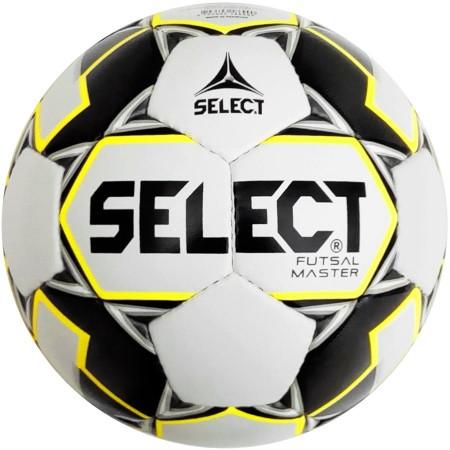Футзальный мяч Select Futsal Master IMS бело/черно/желтый