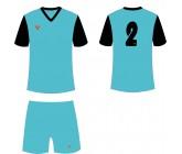 Футбольная форма Titar Универсал II бирюзово-черный