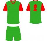 Футбольная форма Titar Универсал II зелено-красная