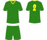 Футбольная форма Titar Универсал зеленая