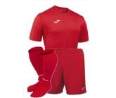 Комплект футбольной формы Joma Campus (футболка+шорты+гетры) 100417-600