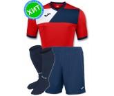 Комплект футбольной формы Joma CREW II 100611.603(футболка+шорты+гетры)