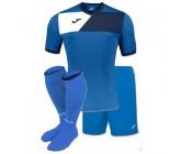 Детская футбольная форма Joma CREW II 100611.703(футболка+шорты+гетры)