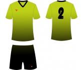 Футбольная форма Titar CoolMax сублимация салатово-черная