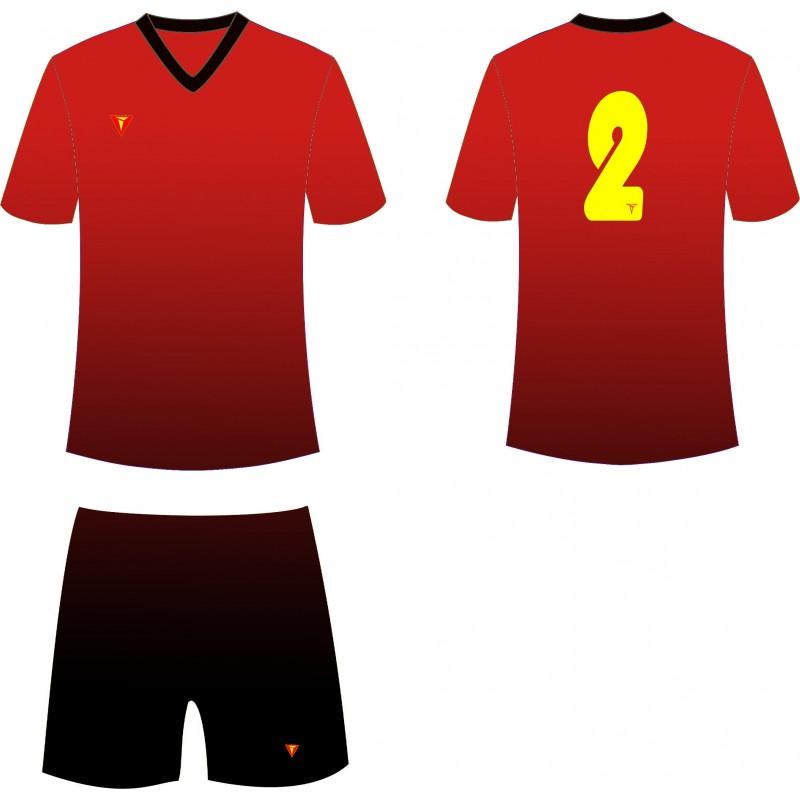 818d40aa Футбольная форма : Футбольная форма Titar CoolMax сублимация красно ...