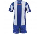 Футбольная форма Givova Kit Catalano бело-голубая KITC26.0203