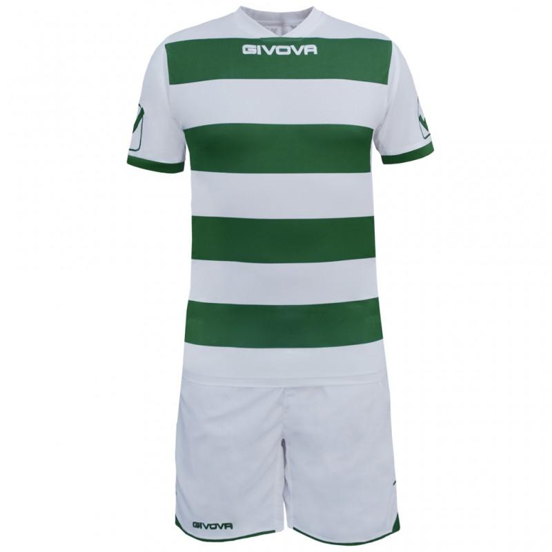 Футбольная форма   Футбольная форма Givova Kit Rugby бело-зеленая ... 39c2d24d9b1