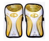 Щитки футбольные Europaw желтые fb-euro-00006