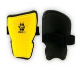 Щитки футбольные детские Europaw желтые fb-euro-01255