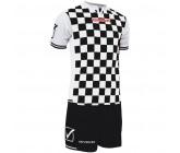 Футбольная форма Givova Kit Competition черно-белая KITC45.1003