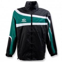 Куртка ветрозащитная Europaw TeamLine черно-зеленая suits-euro-00669