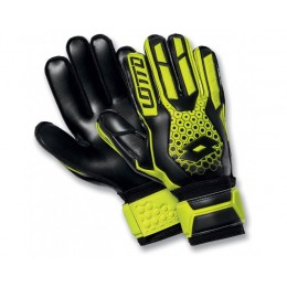 Вратарские перчатки Lotto GLOVE GK SPIDER 500 (S4045) YELLOW SAF/BLACK