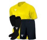 Акция! Titar форма футбольная Универсал желтая (футболка+шорты+гетры)