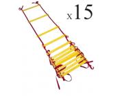 Лестница для тренировок с 15-ю ступеньками EUROPAW FB-model:815