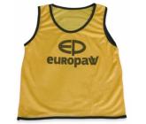 Манишка Europaw logo детская желтая FB-00619