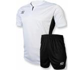 Футбольная форма FB-model:005 бело - черная EUROPAW