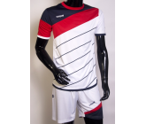 Футбольная форма FB-model:008 бело-красная EUROPAW