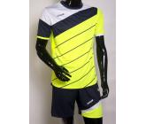 Футбольная форма FB-model:008 салатово-т.синяя EUROPAW