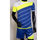 Футбольная форма FB-model:008 сине-салатовая EUROPAW