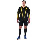 Вратарская футбольная форма (кофта и шорты) черно - желтая EUROPAW RF-model:72VF