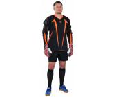 Вратарская футбольная форма (кофта и шорты) черно - оранжевая EUROPAW RF-model:73VF