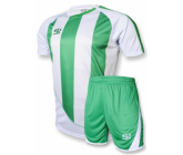 Футбольная форма FB-model:001 бело-зеленая EUROPAW