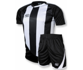 Футбольная форма FB-model:001 черно - белая 2014 EUROPAW