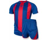 Футбольная форма FB-model:001 сине - черная EUROPAW