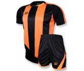 Футбольная форма FB-model:001 черно - оранжевая EUROPAW