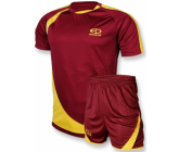 Футбольная форма FB-model:002 бордово - желтая EUROPAW
