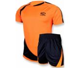 Футбольная форма FB-model:002 оранжево - черная EUROPAW