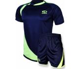 Футбольная форма FB-model:002 сине - салатовая EUROPAW