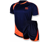 Футбольная форма FB-model:002 т.сине - оранжевая EUROPAW