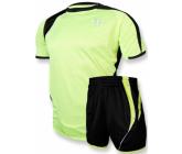 Футбольная форма FB-model:003 салатово - черная EUROPAW