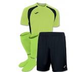 Акция! Комплект футбольной формы салатовая Joma CHAMPION III 100014.021(футболка+шорты+гетры)