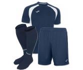 Акция! Комплект футбольной формы т.синьо-бiла Joma CHAMPION III 100014.302 (футболка+шорты+гетры)