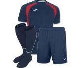 Акция! Комплект футбольной формы т.синьо-бiла Joma CHAMPION III 100014.306 (футболка+шорты+гетры)
