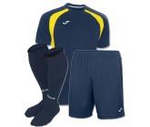 Акция! Комплект футбольной формы т.синьо-бiла Joma CHAMPION III 100014.309 (футболка+шорты+гетры)